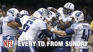 Watch Every Touchdown from Sunday (Week 9)   NFL RedZone