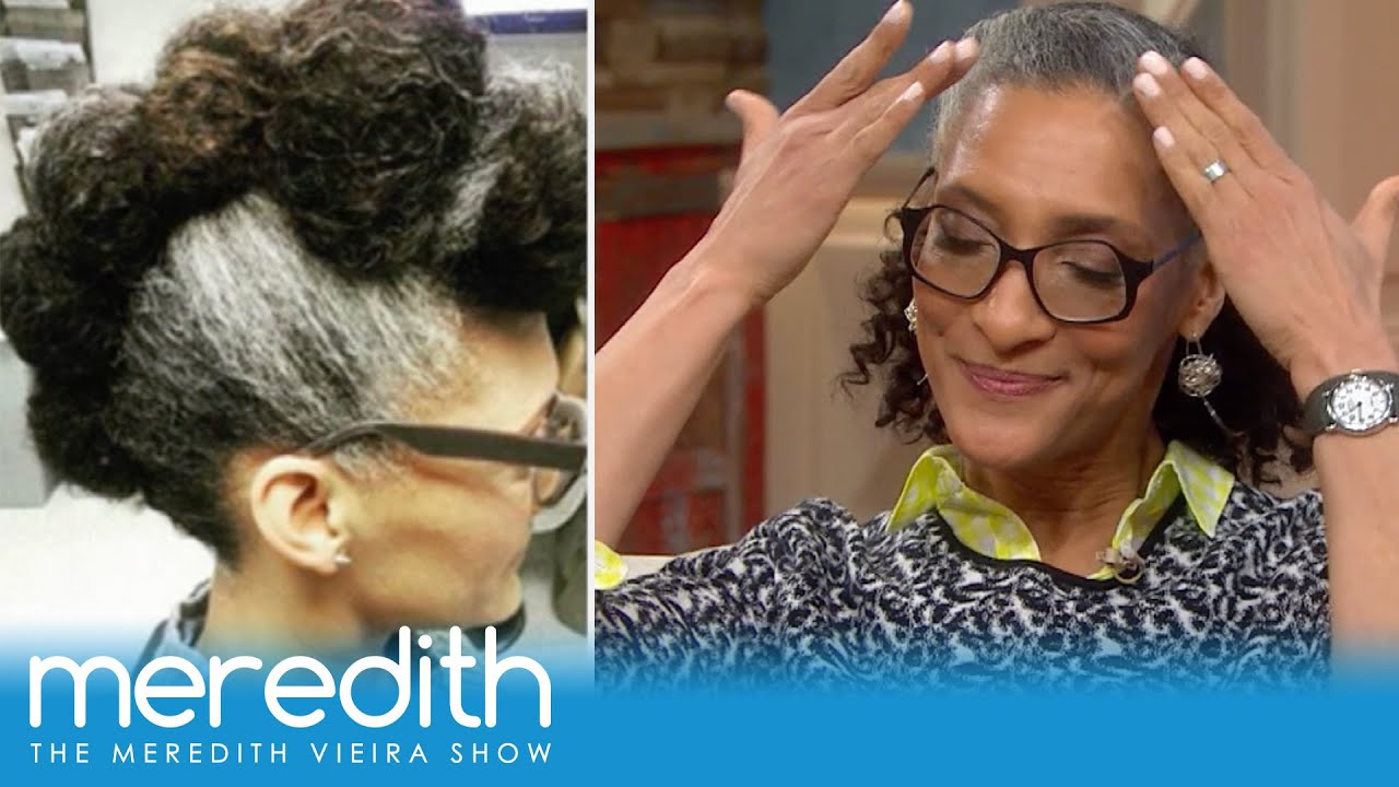 Carla Hall Explains Her Hairstyle Inspo The Meredith Vieira Show