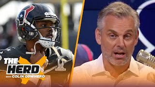 Does Dak deserve the same deal as Deshaun Watson? Colin updates his 2020 NFL predictions | THE HERD