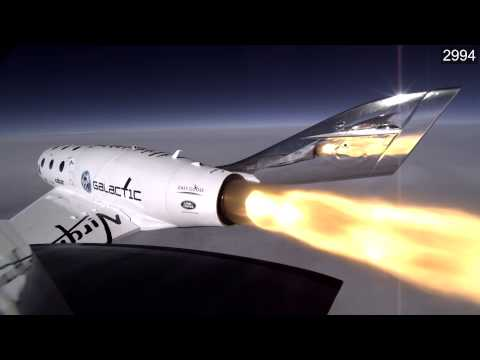 Video shown during NTSB Board Meeting on in-flight breakup of SpaceShipTwo near Mojave, CA.