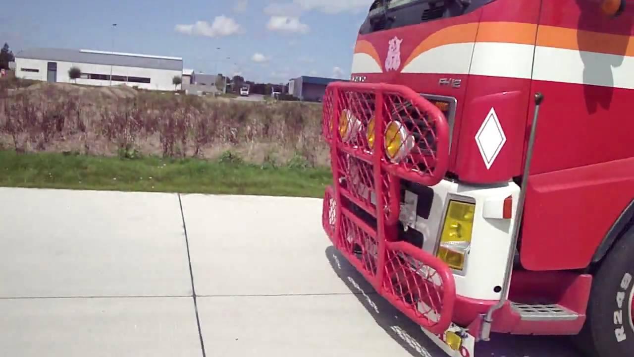 Steve van Defour met brulpijp by trucks4life.be