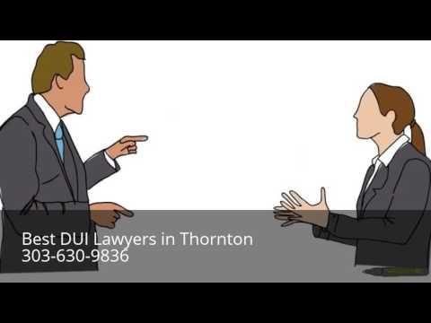 DUI Attorney Thornton