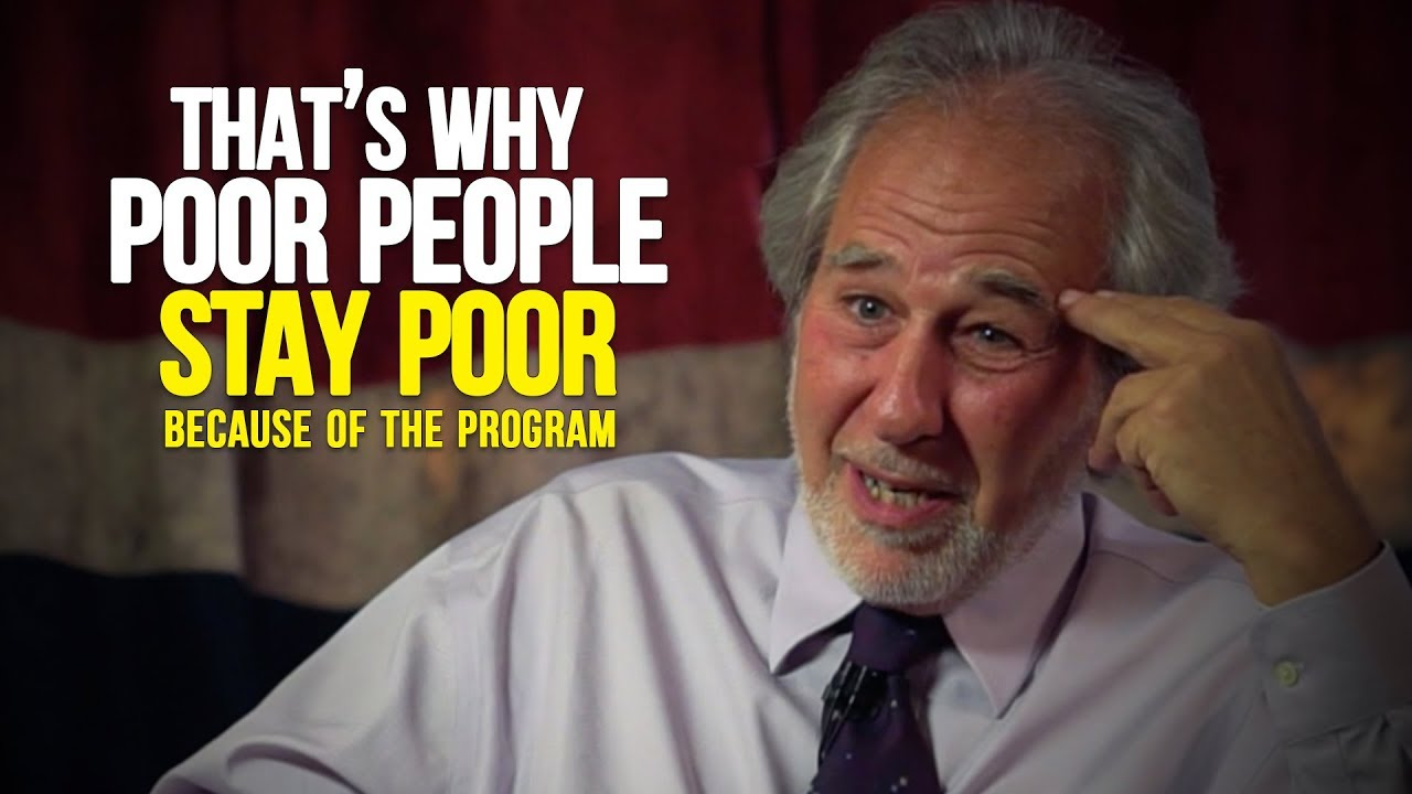 WE ARE PROGRAMMED TO BE POOR | An Eye Opening Speech by Dr  Bruce Lipton