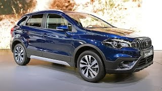 New SUZUKI SX4 S-CROSS 2017 - Exterior and Interior