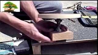Como fazer uma mesa giratória para Bonsai - 05