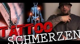 Tattoo Schmerz - Schmerzen beim Tätowieren | Max Cameo