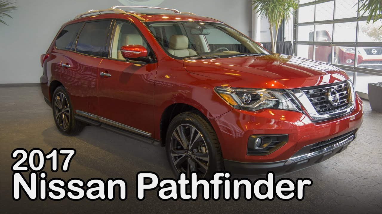 2017 nissan pathfinder first look youtube. Black Bedroom Furniture Sets. Home Design Ideas