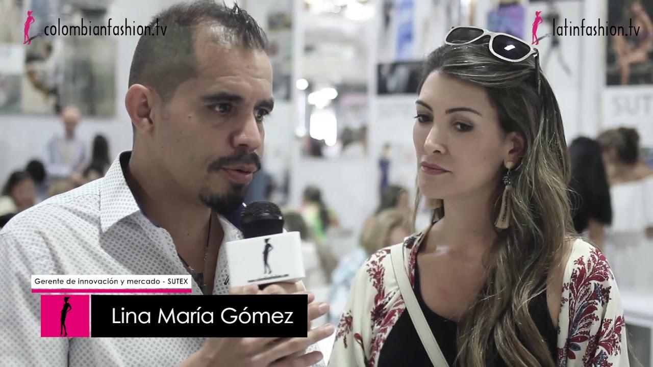 Lina María Gómez, Gerente de innovación y mercado en SUTEX