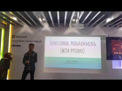Functional Programming in Python - Bibek Pandey #Python Meetup Nepal 13