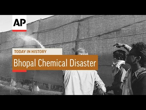 Bhopal Chemical Disaster - 1984  | Today in History | 3 Dec 16