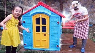 Öykü and Pretend Play Magic House - fun kids video Oyuncak Avı