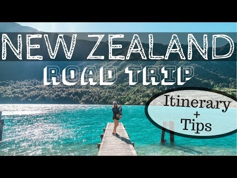 NEW ZEALAND ROAD TRIP - Itinerary Hot Spots + Tips