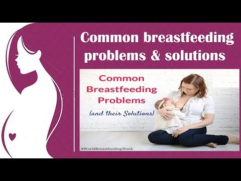 Common Problems Faced by Breastfeeding Mothers By Women and Baby Care