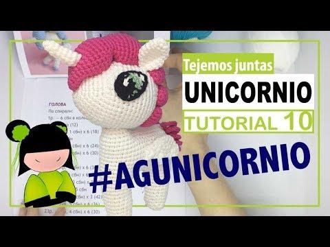 Unicornio amigurumi 10 | hoy cerramos el cuerpo | TEJEMOS JUNTAS?