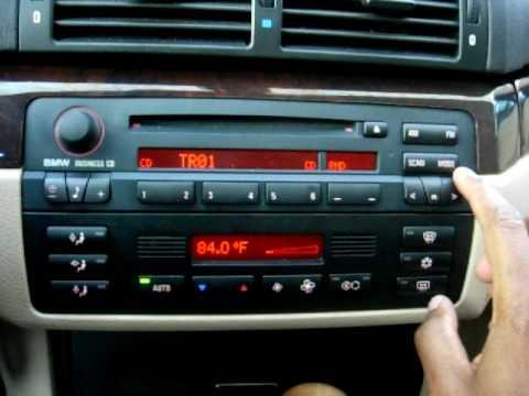 Sirius, MP3 Playback and Bluetooth on BMW Business CD53 Alpine Radio