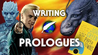 On Writing: Prologues [ Game of Thrones l Harry Potter l John Green ]