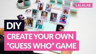 """DIY - CREATE YOUR OWN """"GUESS WHO"""" GAME"""