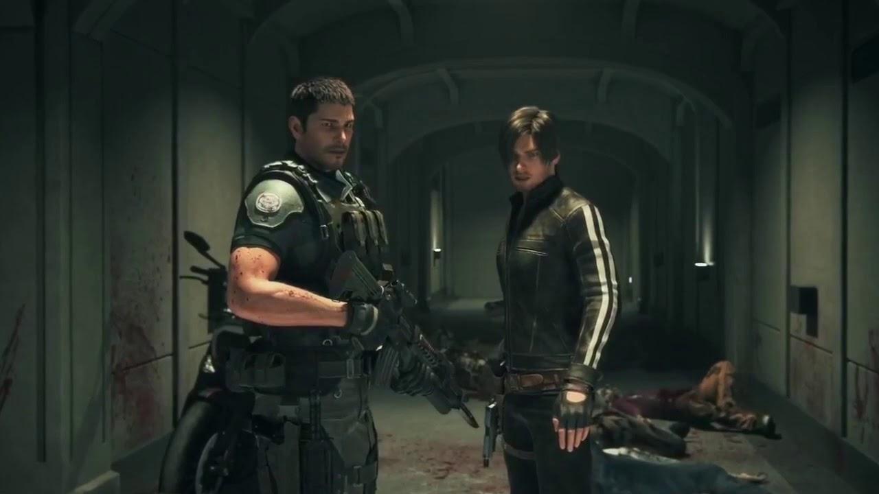 Resident Evil Vendetta Leon And Chris Vs Zombies Youtube