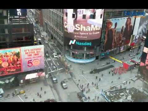 Live Webcam from New York Times Square - Time Lapse