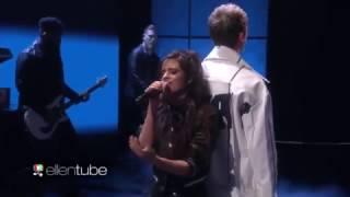 Machine Gun Kelly & Camila Cabello - Bad Things (Live at The Ellen Show)