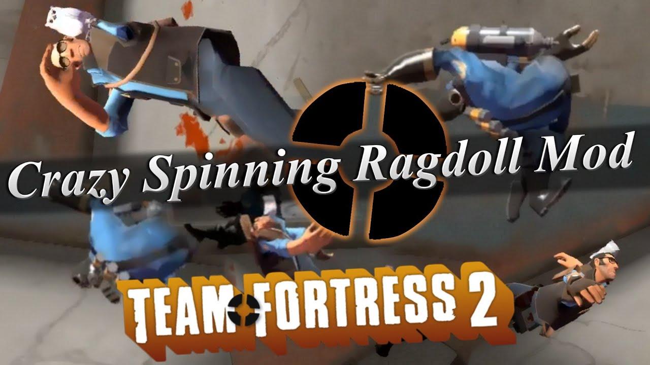 TF2 - Crazy Spinning Ragdoll Mod