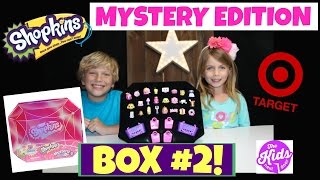 SHOPKINS MYSTERY EDITION #2   TARGET   BRAND NEW   The Kids Next Door