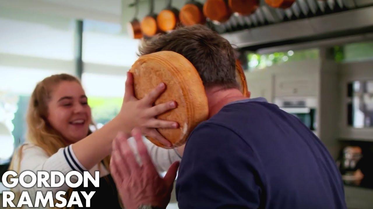 Gordon Ramsay Helps Matilda Cook A