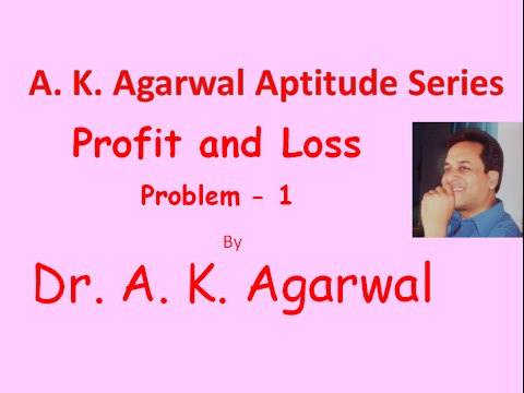 Profit and Loss, Problem 1,