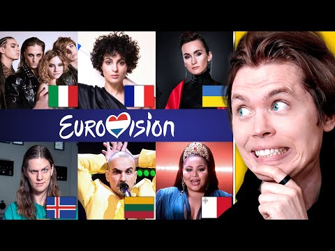 Songwriter Ranks the 2021 Eurovision Songs