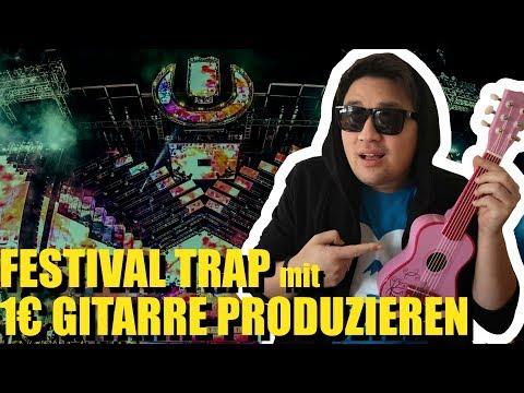 Free Download Festival Trap Beat Produzieren Mit Einer 1€ Gitarre | Vincent Lee Mp3 dan Mp4