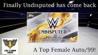 2019 Topps Undisputed - Top Female Auto Hit /99!  Legends Auto /99!