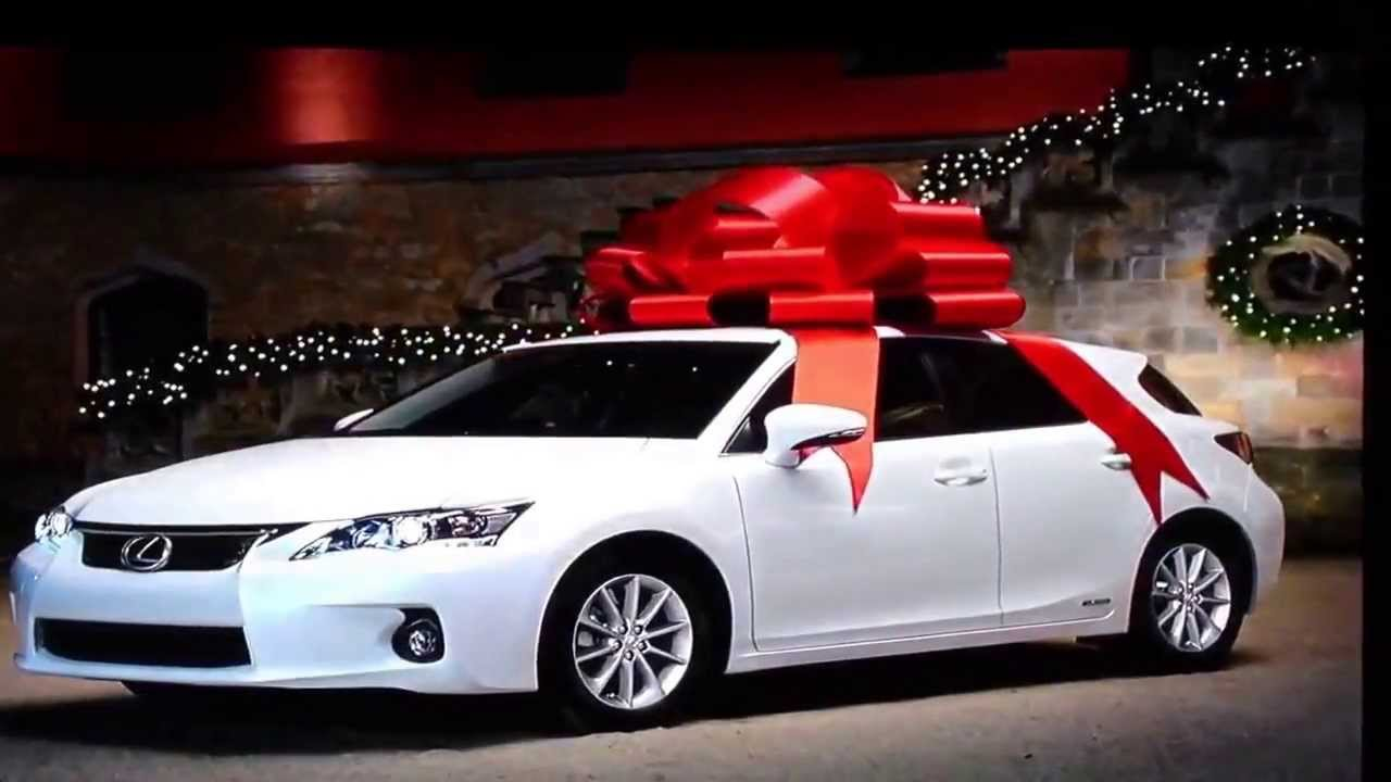 Lexus Christmas Commercial 2013 - YouTube