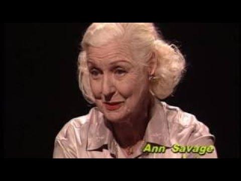 Ann Savage Rare TV Interview, Detour