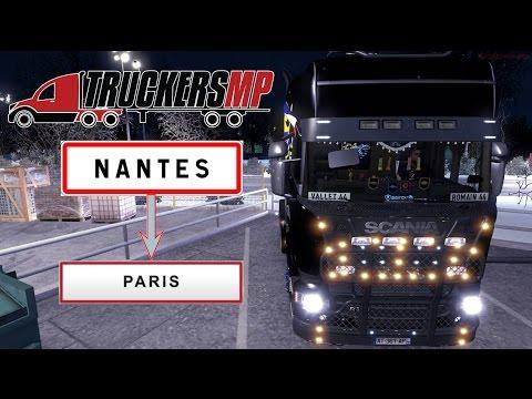 [FR] ETS2 MP | Nantes - Paris | DLC VIVE LA FRANCE ! #01