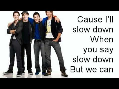 I Know You Know - Big Time Rush ft. Cymphonique - with lyrics