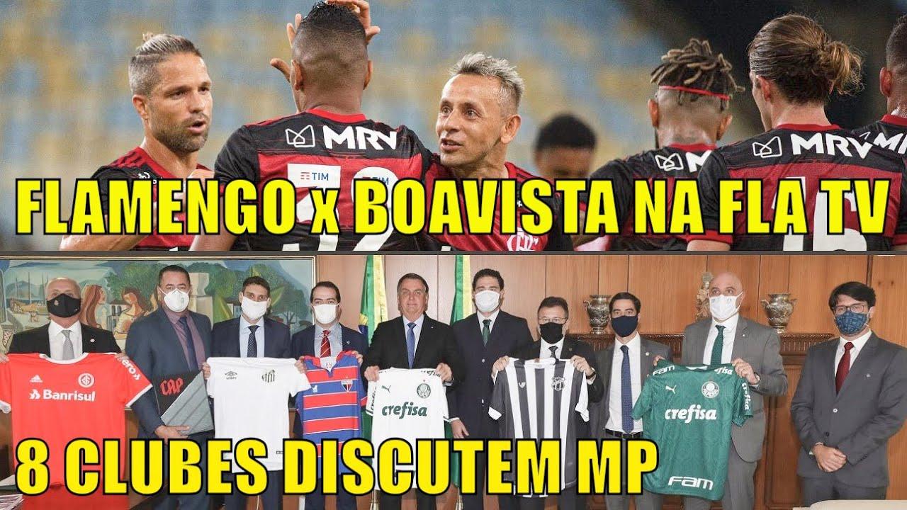 Vale a pena passar jogo na Fla TV? Por que clubes com contrato com a Turner encontraram Bolsonaro?