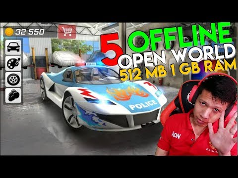 5 GAME ANDROID OFFLINE OPEN WORLD UNTUK HP 512 MB / 1 GB RAM - 동영상