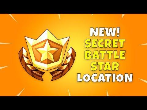 New Fortnite Secret Battle Star Location!! - Battle Pass Season 4 Week 6