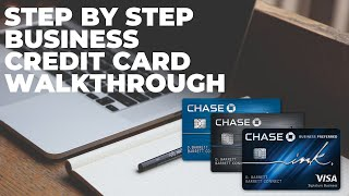 2019 Business Credit Card Step by Step Walkthrough