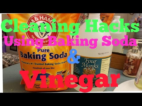 Cleaning Hacks Using Baking Soda and Vinegar