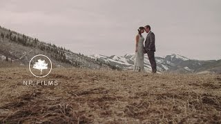 Monique and Eric | Park City Wedding Video |  Lookout Cabin