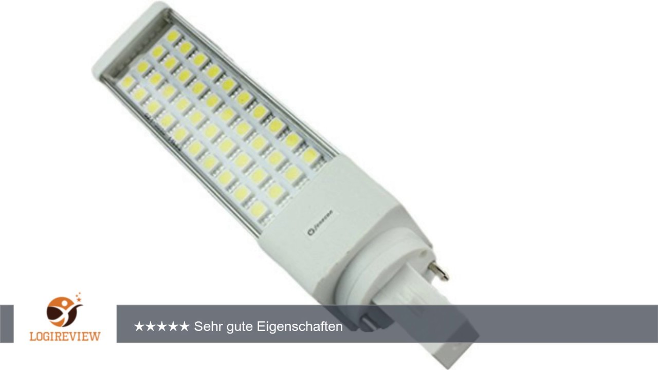 LED-Lampe - G24d (universell) - 7 Watt - Tageslicht - 6000 - 6500 ...