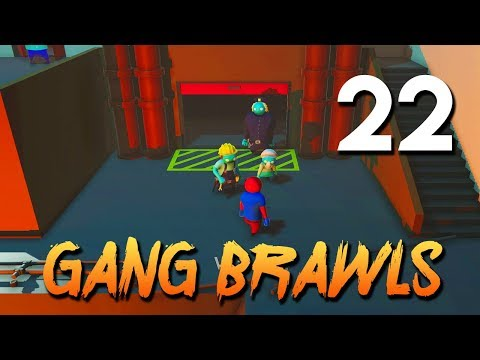 [22] Gang Brawls (Let's Play Gang Beasts w/ GaLm and friends)