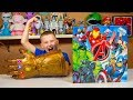 HUGE Avengers Superhero Blind Bags Surprise Toys for Kids | Kinder Playtime It's a Toy Party!