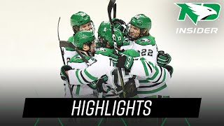 North Dakota vs. Wisconsin | Highlights | UND Hockey | 11/2/18