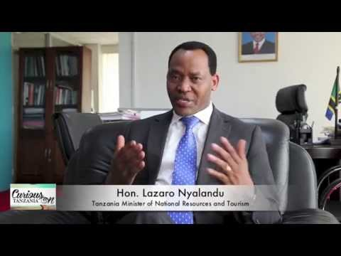 Message from Tanzania Minister of  Natural Resources and Tourism.