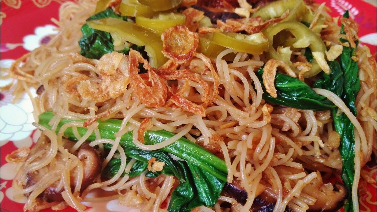 How to make The Real Singapore Noodles Recipe - (Char Bee Hoon) - YouTube