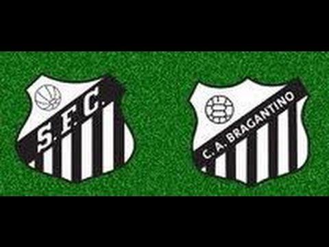 Santos 6 x 3 Bragantino -  Campeonato Paulista 18/02/2010 - Jogo Completo