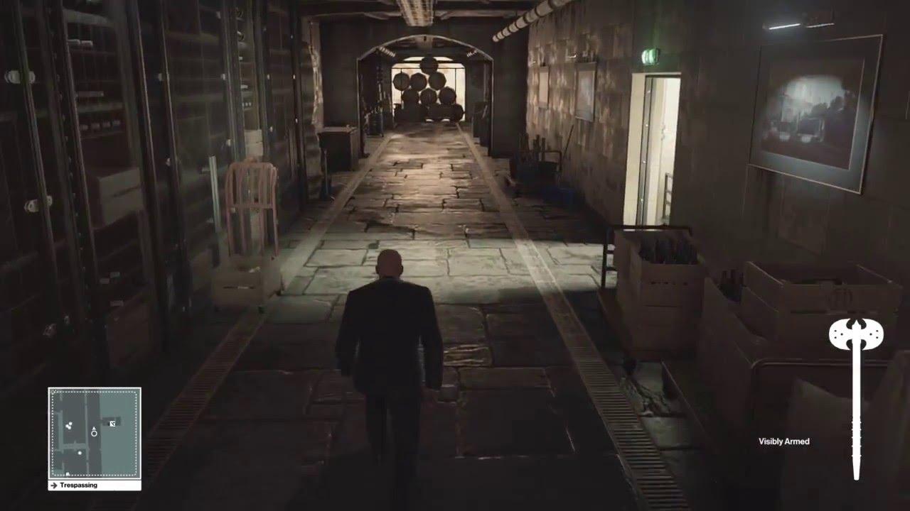 Hitman 2016 Battle Axe Silent Assassin Suit Only Paris