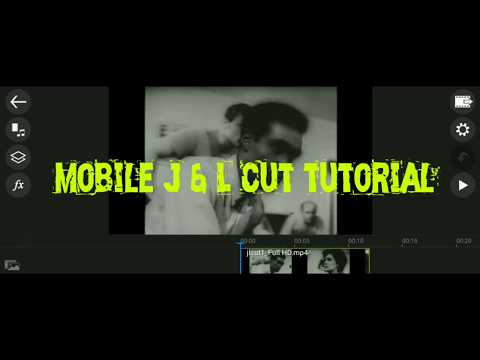 Making J and L cuts on your phone, with Power Director Mobile